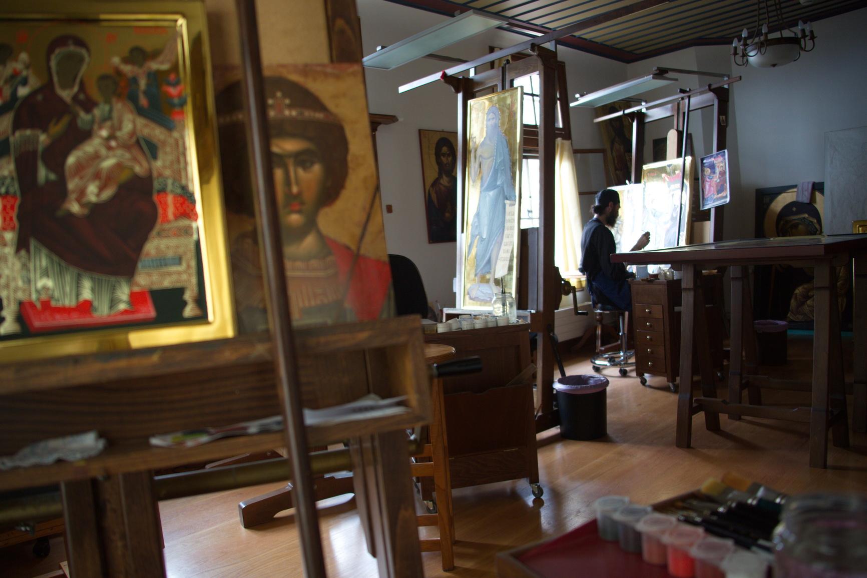 Iconography studio