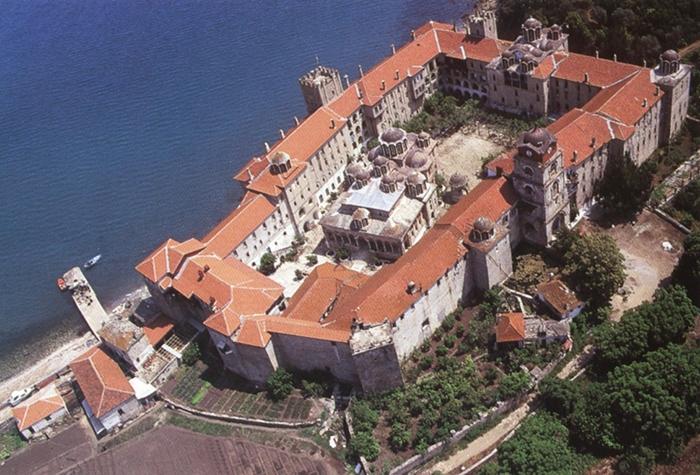 The Holy Monastery of Esphigmenou