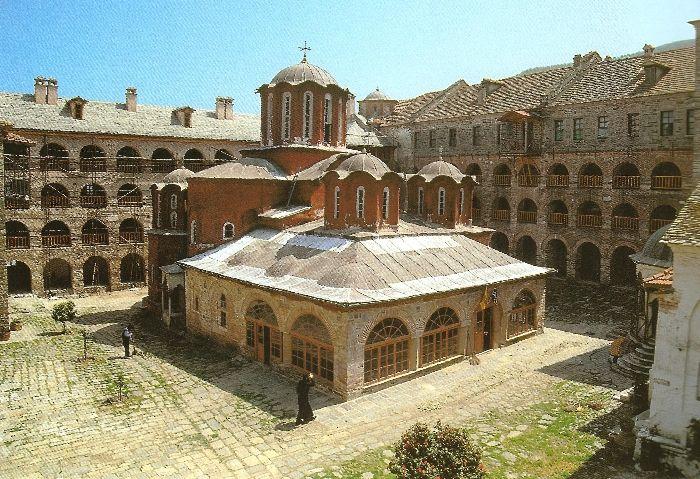 The Holy Monastery of Koutloumousiou