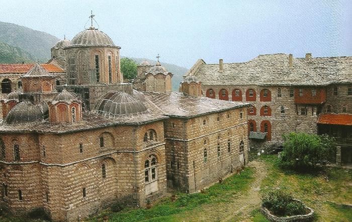 The Holy Monastery of Xeropotamou