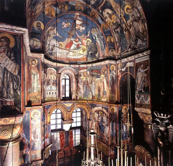 The Wall – Paintings of the Katholikon