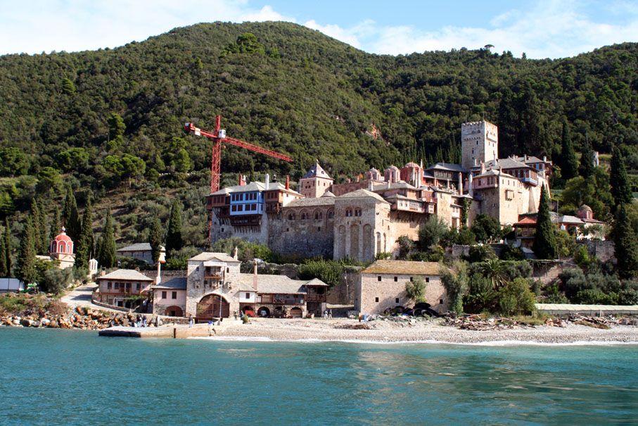 The Holy Monastery of Docheiariou