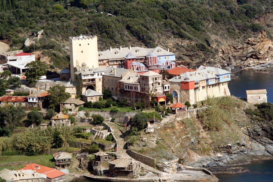 The Holy Monastery of Pantokratoros
