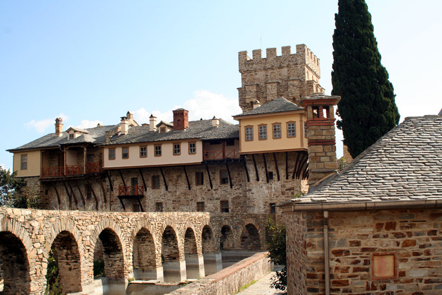 The Holy Monastery of Stavronikita